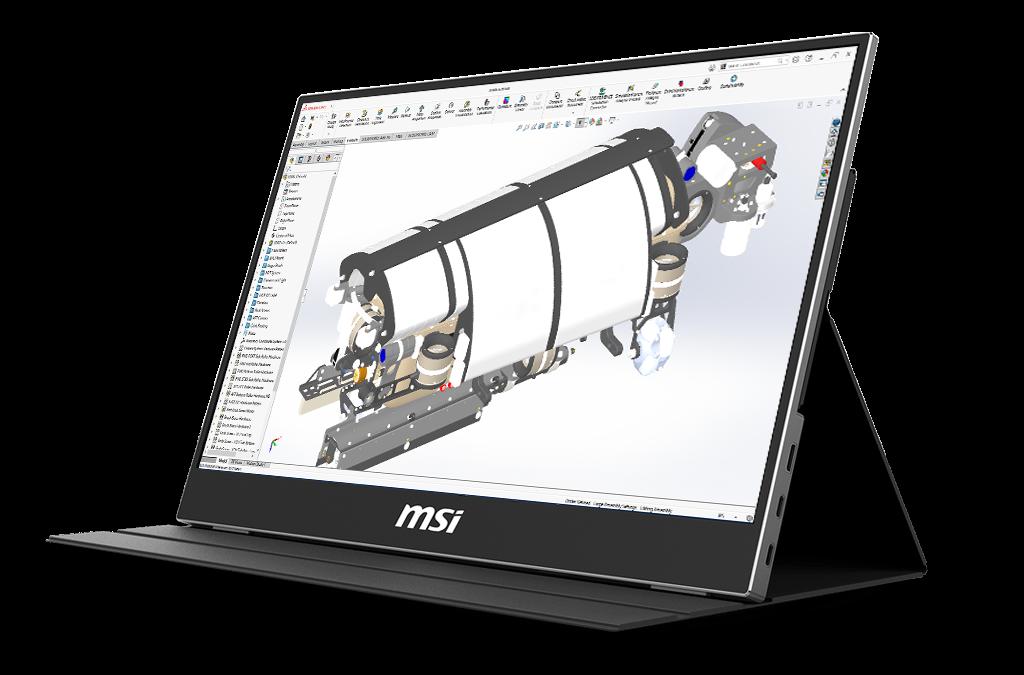 MSI draagbaar beeldscherm voor laptops