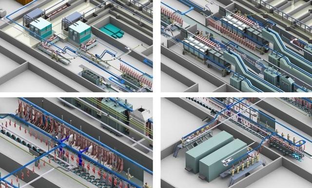 Marel - factory layouts