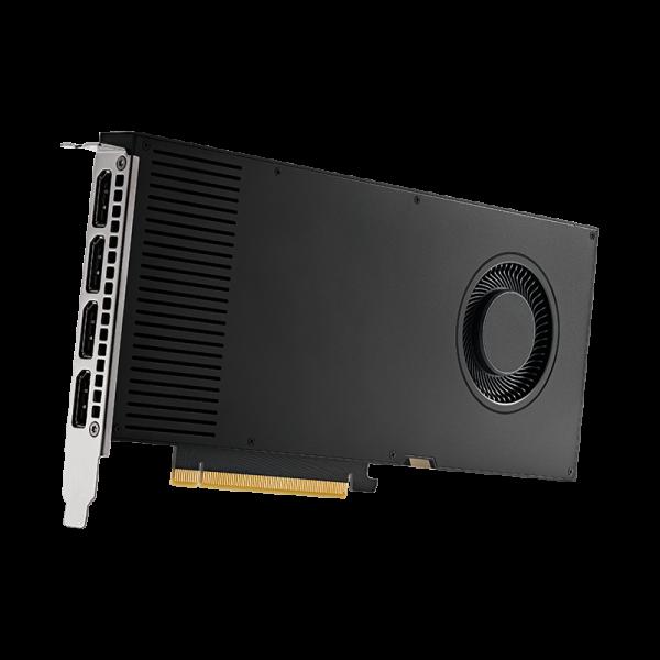 Nvidia RTX A4000 rechtsonder
