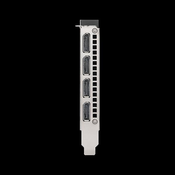 Nvidia RTX A4000 aansluitingen